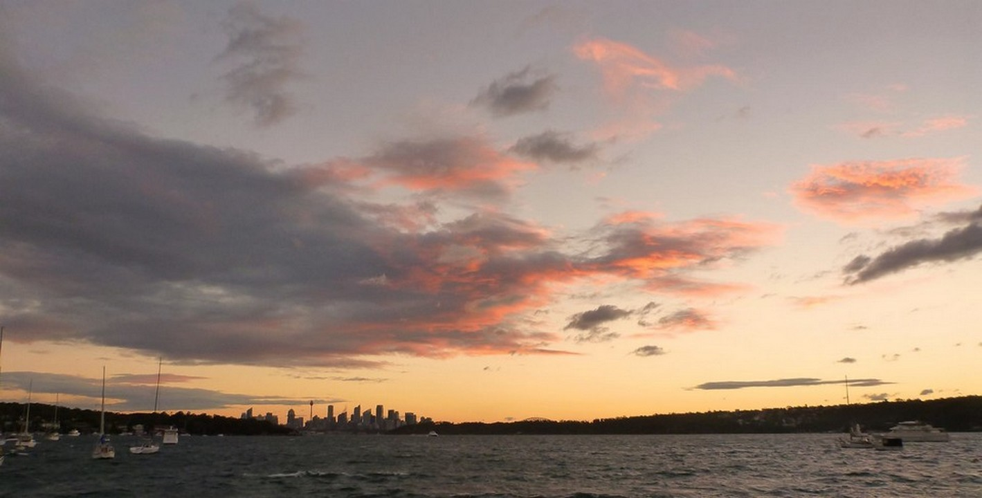 Coucher de soleil à Sydney