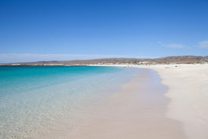 Turquoise Bay near Exmouth in Western Australia
