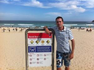 Bondi Beach pour ma vidéo en Australie