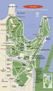 Le royal botanic gardens de Sydney