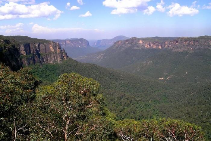 Le parc National des Blue Mountains