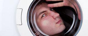 Un australien reste coincé nu dans sa machine à laver