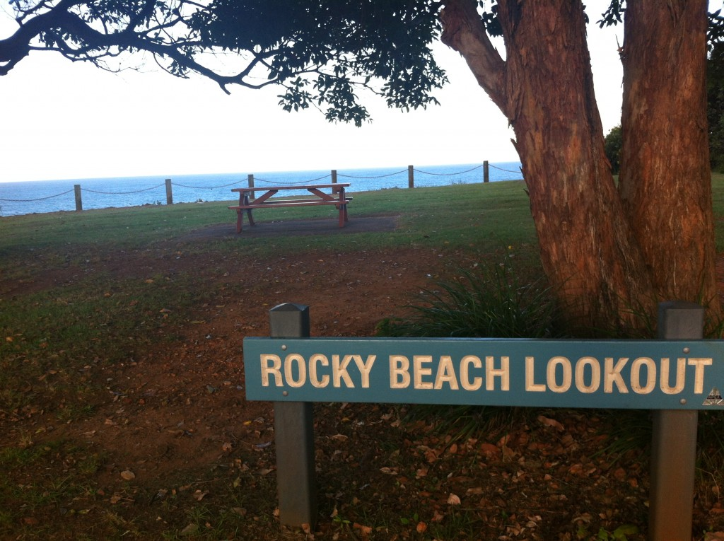 Rocky Beach Port Macquarie Australie