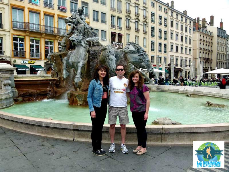 La réunion des backpackers pour l'Australie à Lyon