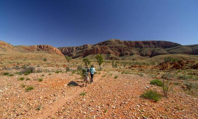 macdonnell range australie