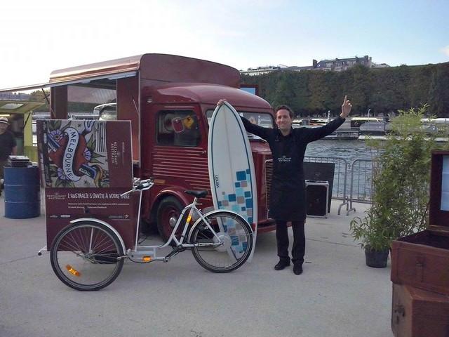 Food Truck Paris Quai De Seine