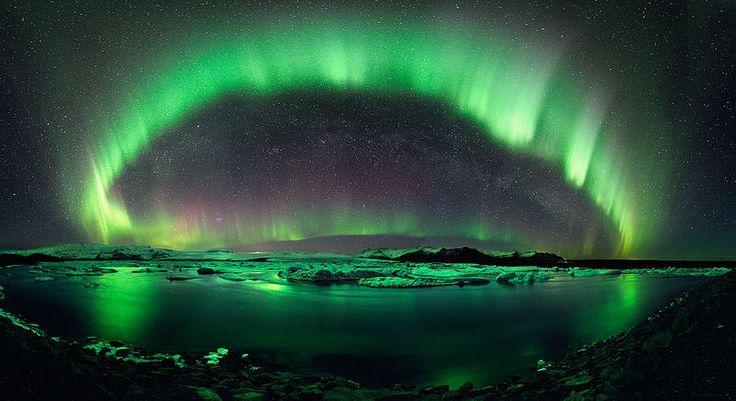 Australie : une aurore australe
