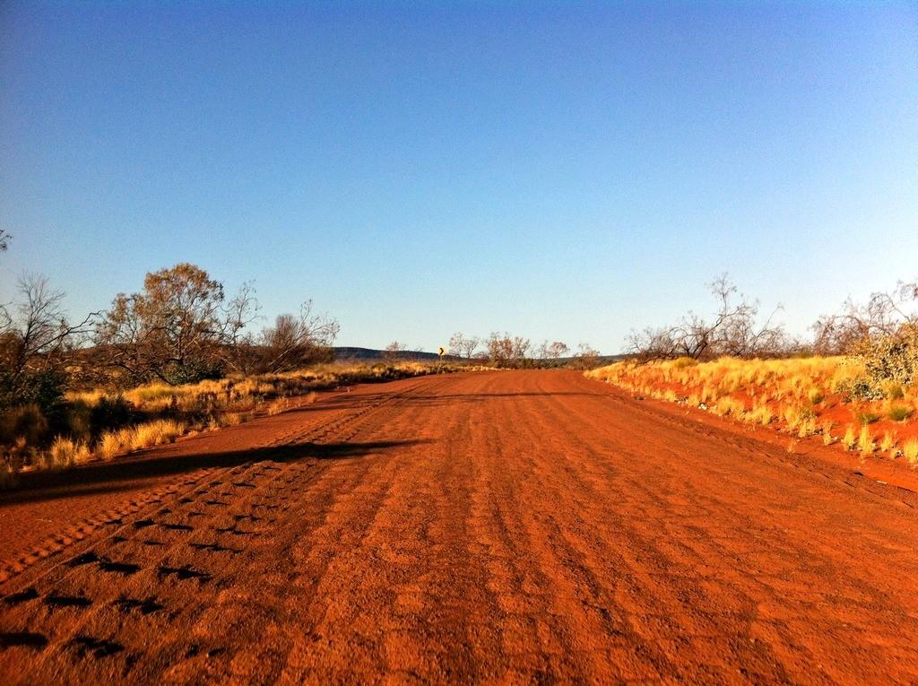 MacDonnell Ranges Australie