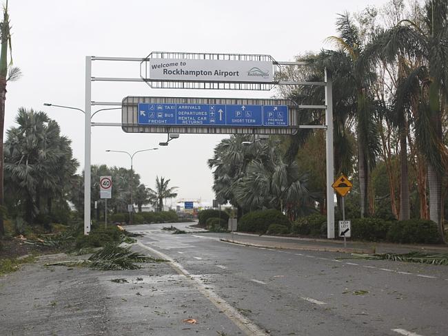 Cyclone Marcia Australie