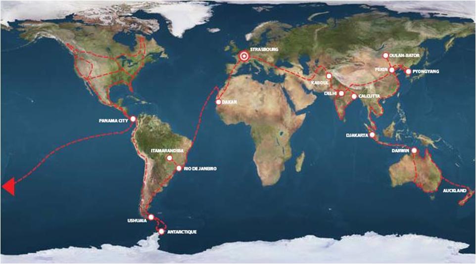 Tour du monde en stop