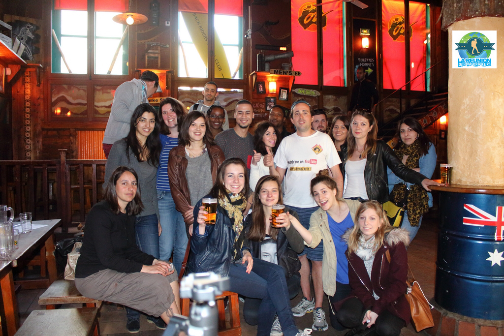 Reunion Backpackers Australie Cafe Oz 11