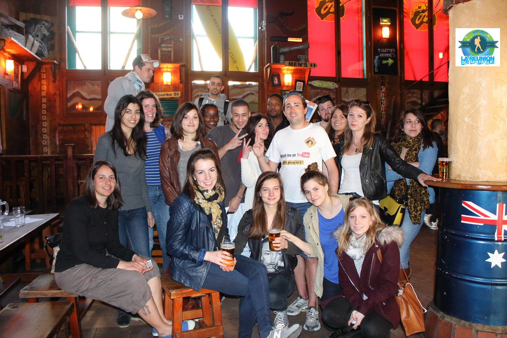 Reunion Backpackers Australie Cafe Oz 12