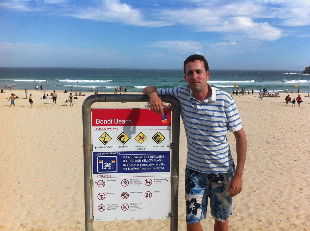 backpapacker sydney australie