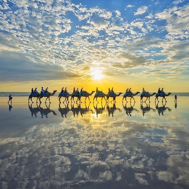 Cable Beach Broome Australie