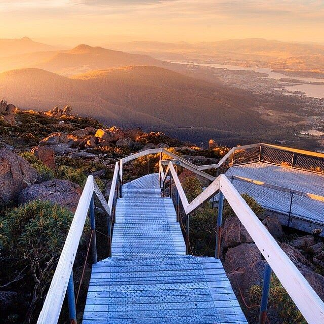Mount Wellington Tasmanie