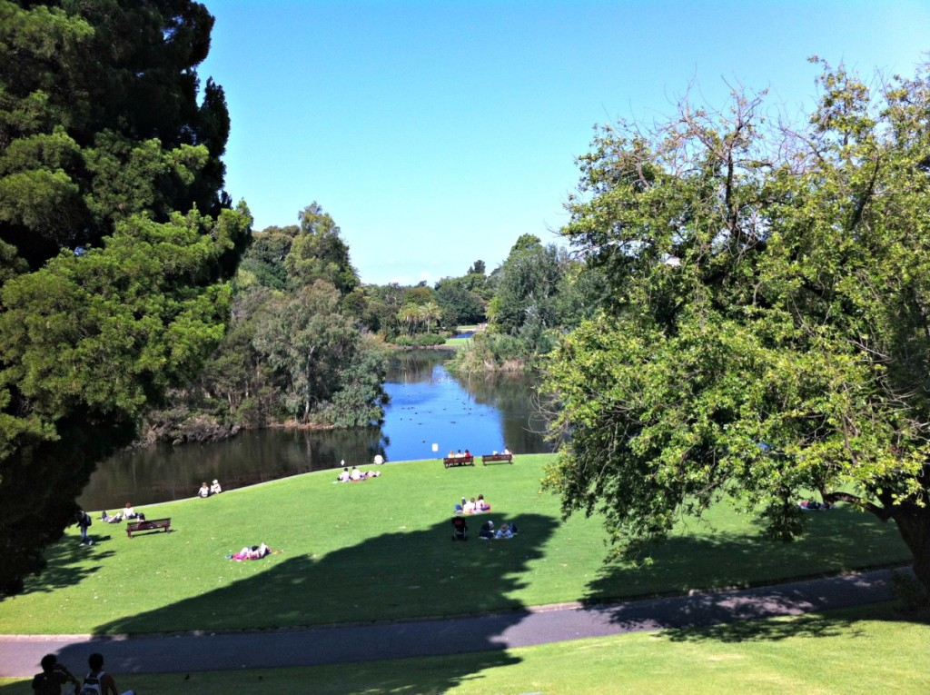 Botanic Garden , Melbourne