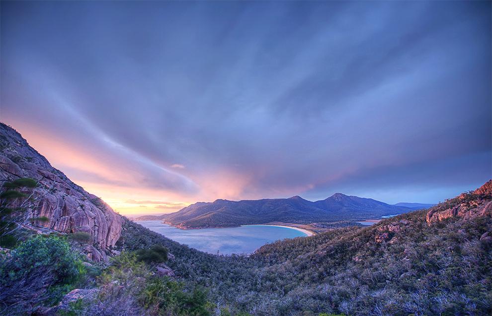 Wineglass Bay en Tasmanie