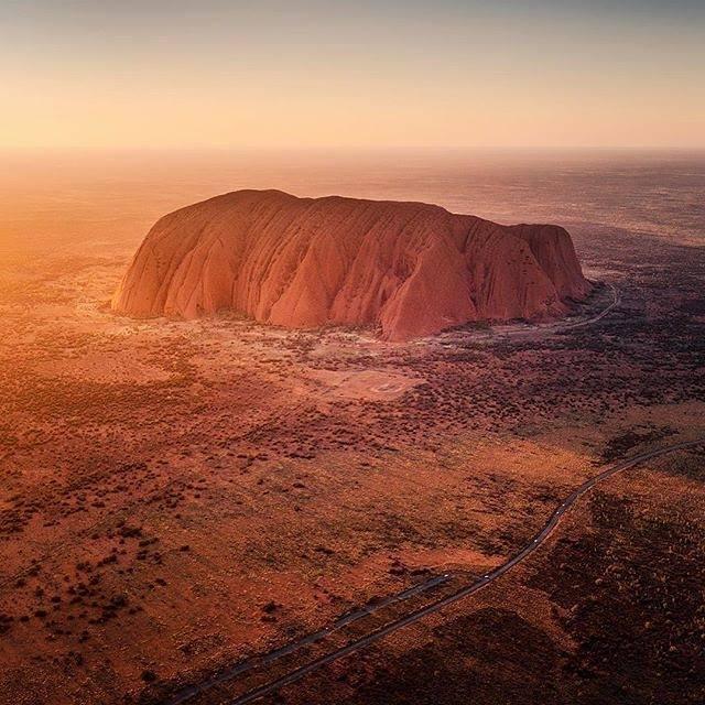 Uluru Australie Centre Rouge