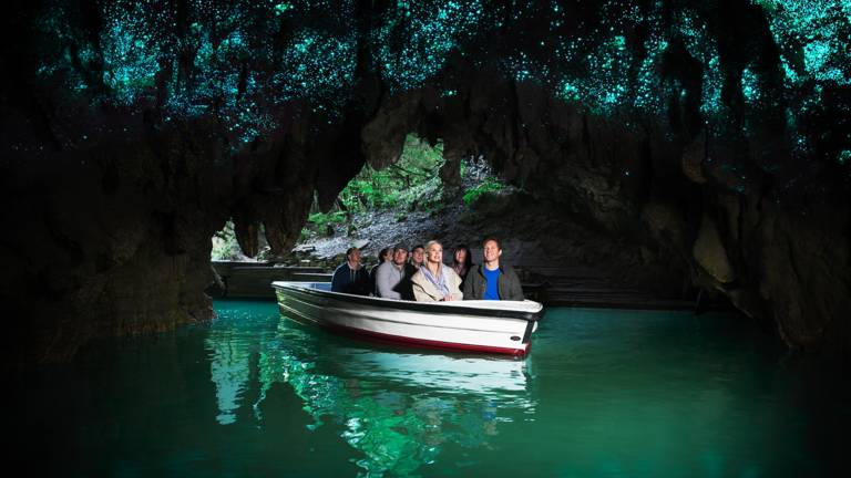 Waitomo Cave Nouvelle Zelande