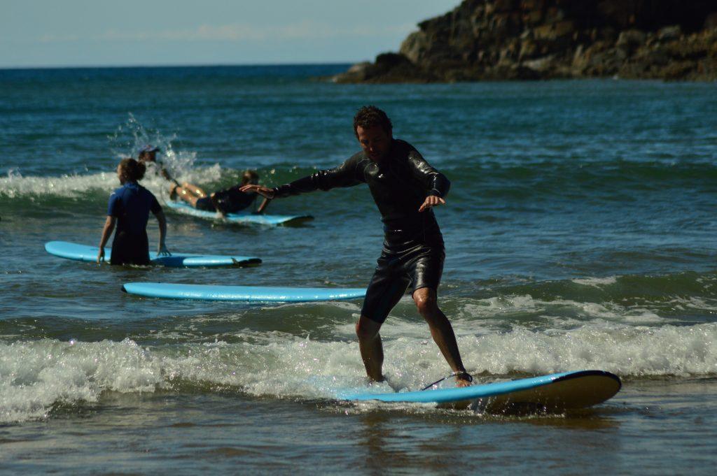 apprendre le surf en Australie