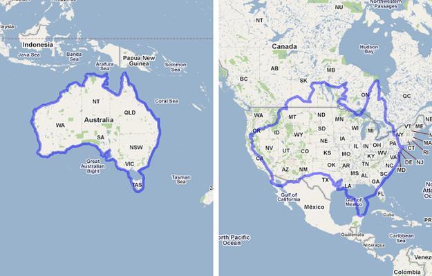 superficie de l'Australie