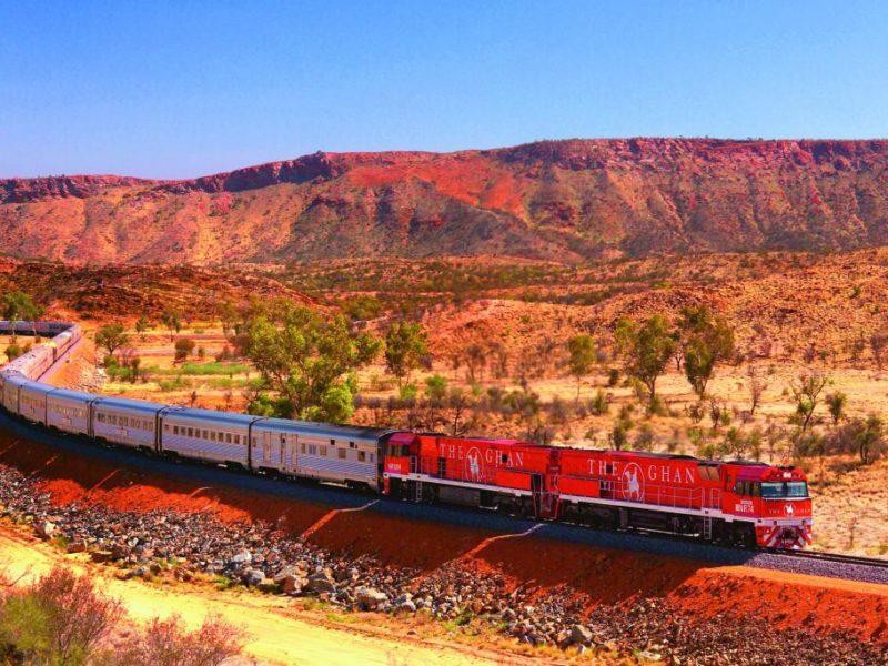 Train Australie
