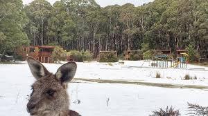 Blue Mountains Australie neige 2