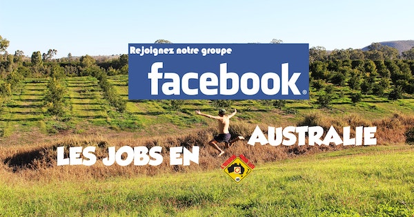 Groupe Facebook Australie