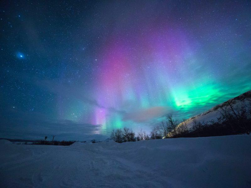 #auroresboreales #Islande Top 10 de pays où il fait bon vivre