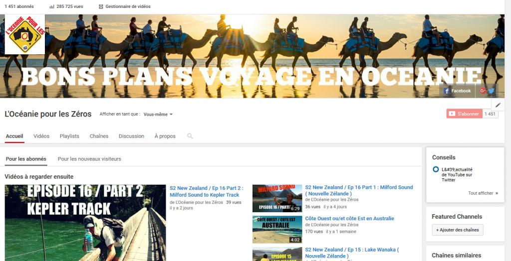 Youtube Voyage