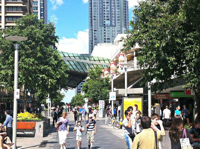 Le centre-ville de Brisbane
