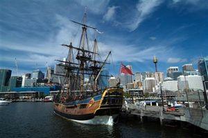 Le musée maritime dans la ville de Sydney