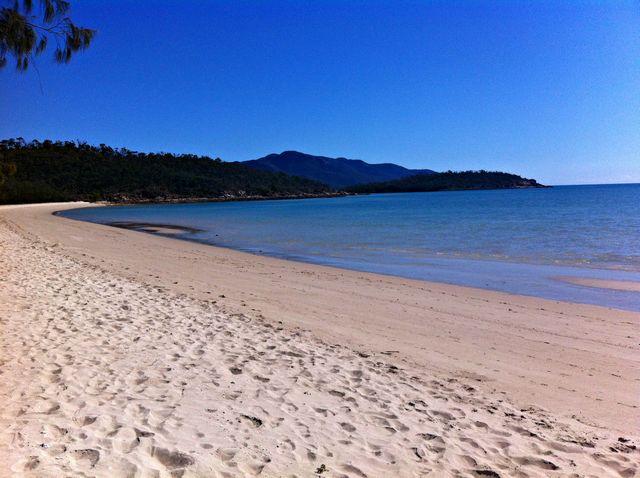 La ville de Dingo Beach dans le Queensland