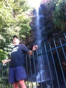 Une cascade en plein centre ville de Townsville