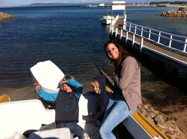 Jeune fille au pair avec Elodie a Melbourne