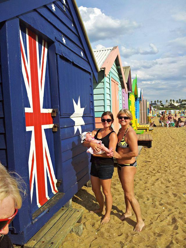Experience de jeune fille au pair avec Sandie à Melbourne en Australie