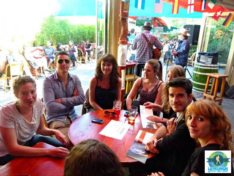 La réunion des Backpackers de l'Australie à PARIS