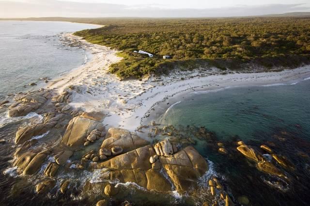 forester beach camp australie-tasmanie