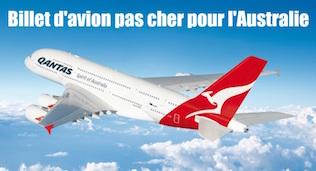 Australie billet d'avion pas cher