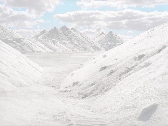 Mine de sel à ciel ouvert en Australie