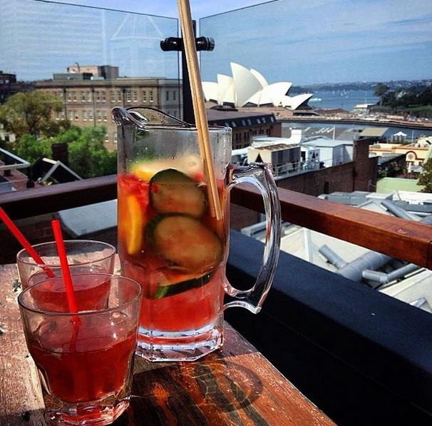 Bar Australie terrasse