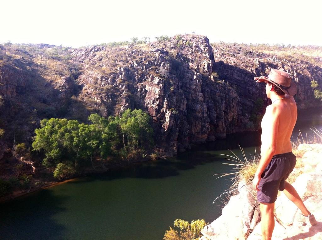 Les falaises de Katherine Gorge