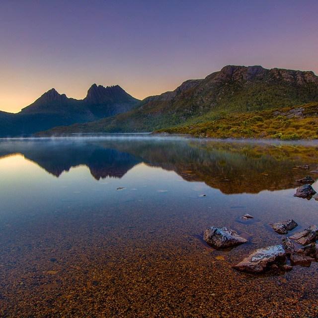 Tasmanie Lac Australie