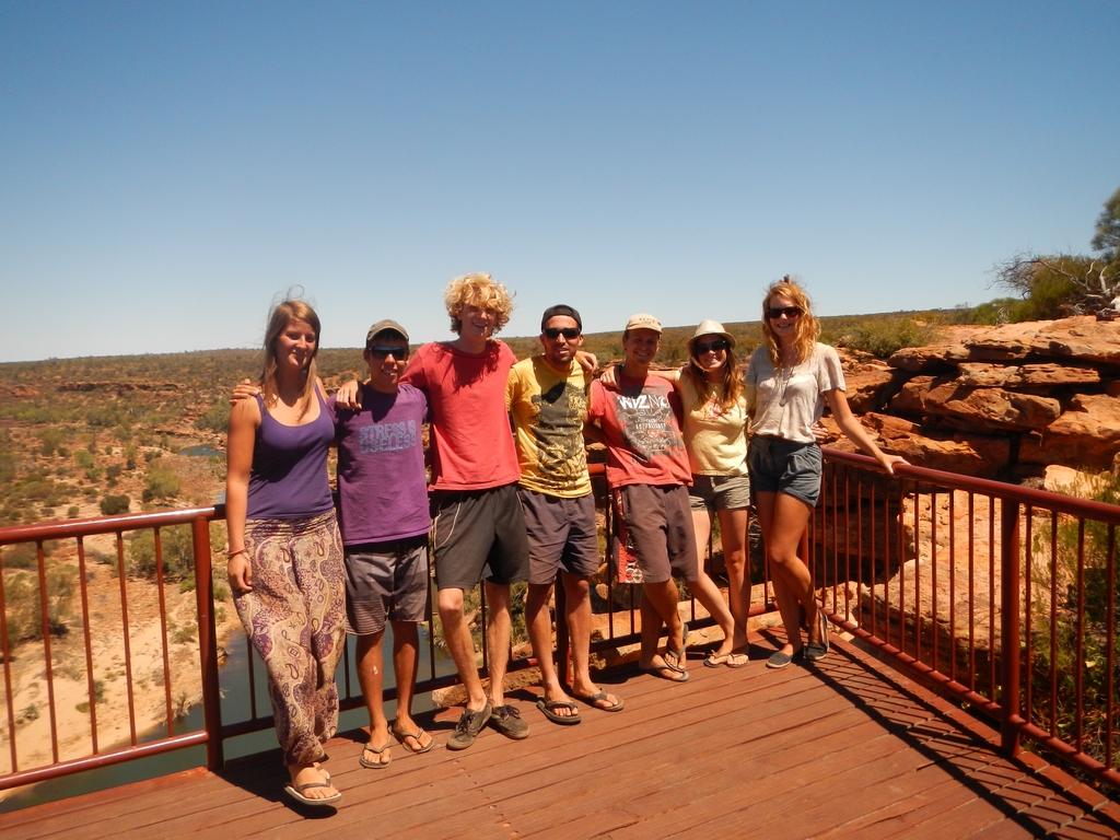 backpacker australie