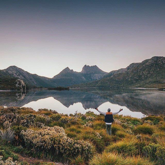 Cradle Mountain-Lake St Clair National Park Tasmanie