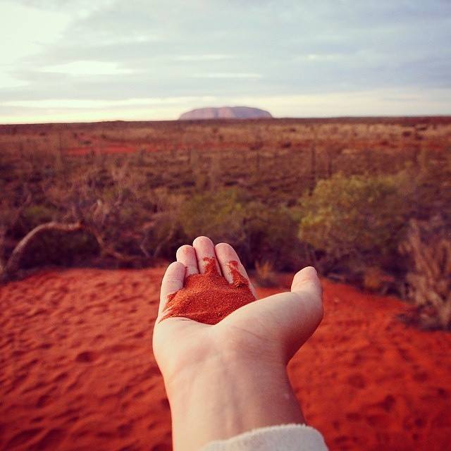 Outback Australie Terre ROUGE