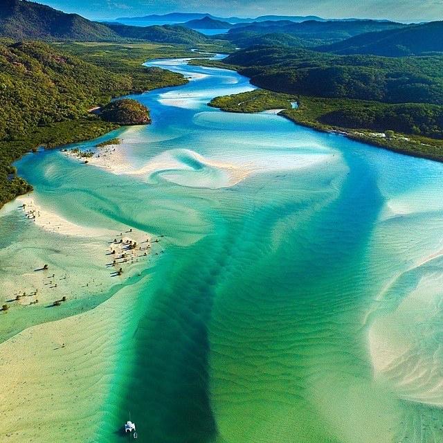 Whitsunday Island Australie