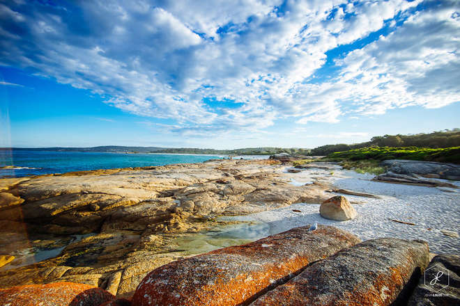 Bay-of-Fires Australie