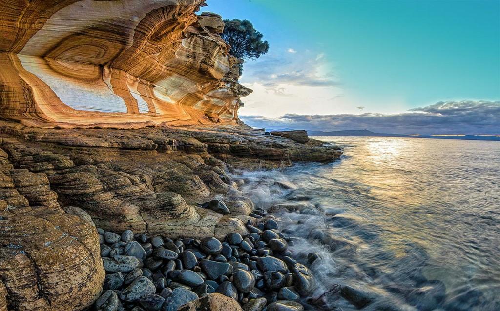 Painted Cliffs Australie