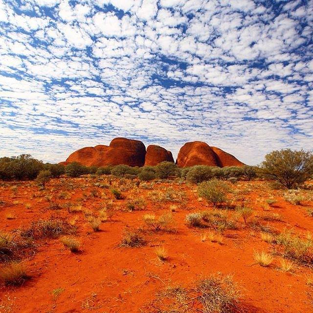 Kata-Tjuta Australie Centre Rouge